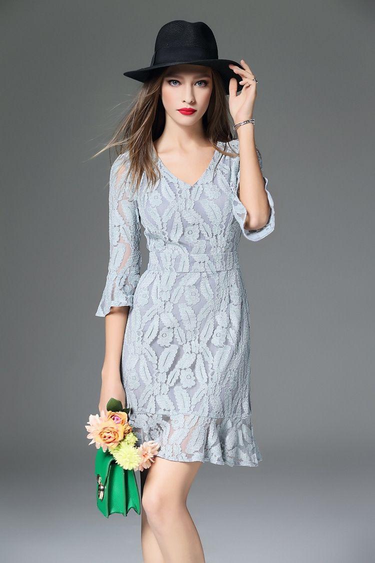 Cheap Light Blue Women Dresses Online Sweetheart Prom Dress ...