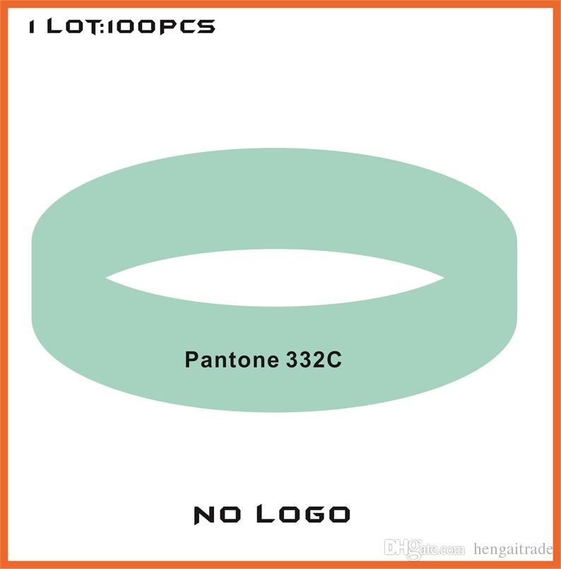 High quality Customized Color rubber silicone bracelets for promotional gifts B422