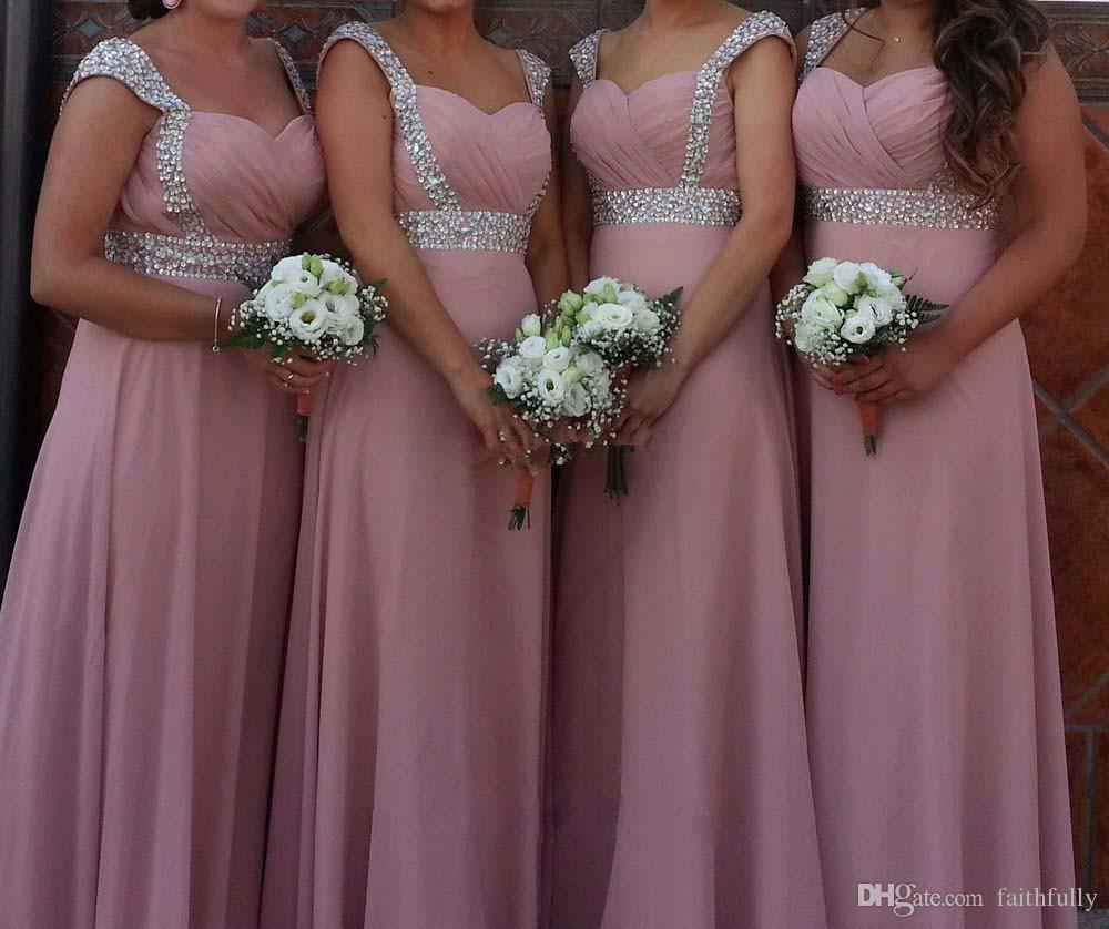 57e54b6e9aa Cheap Satin Silk Bridesmaid Dress Discount Chiffon Convertible Bridesmaid  Dresses