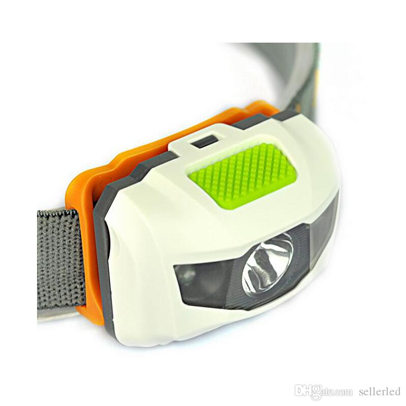 Cree R3 LED Headlamp 300LM 4-mode LED Portable Headlight White/Red Light for Fishing Camping Powered By AAA Battery