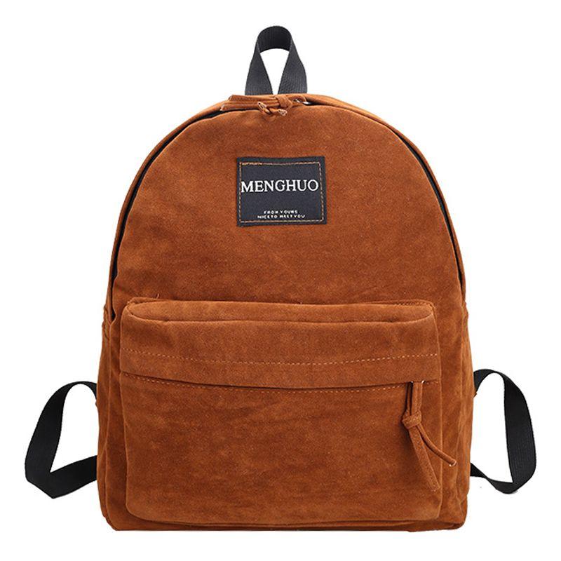 407fcb0e48 Wholesale 2017 New Style Women Backpack Female Vintage Bags Suede Backpacks  Teenage Girls School Bag Casual Backpack Black Khaki Brown Ogio Backpack ...