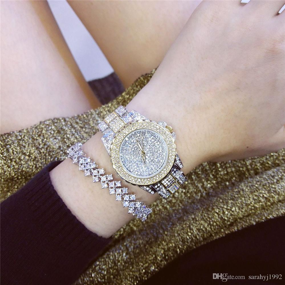 Saatler Kadınlar Kuvars Bilek Saatler BS Yeni High-end Moda kadın İzle Bayan Modelleri Bayanlar Elbise Güzel Hediye