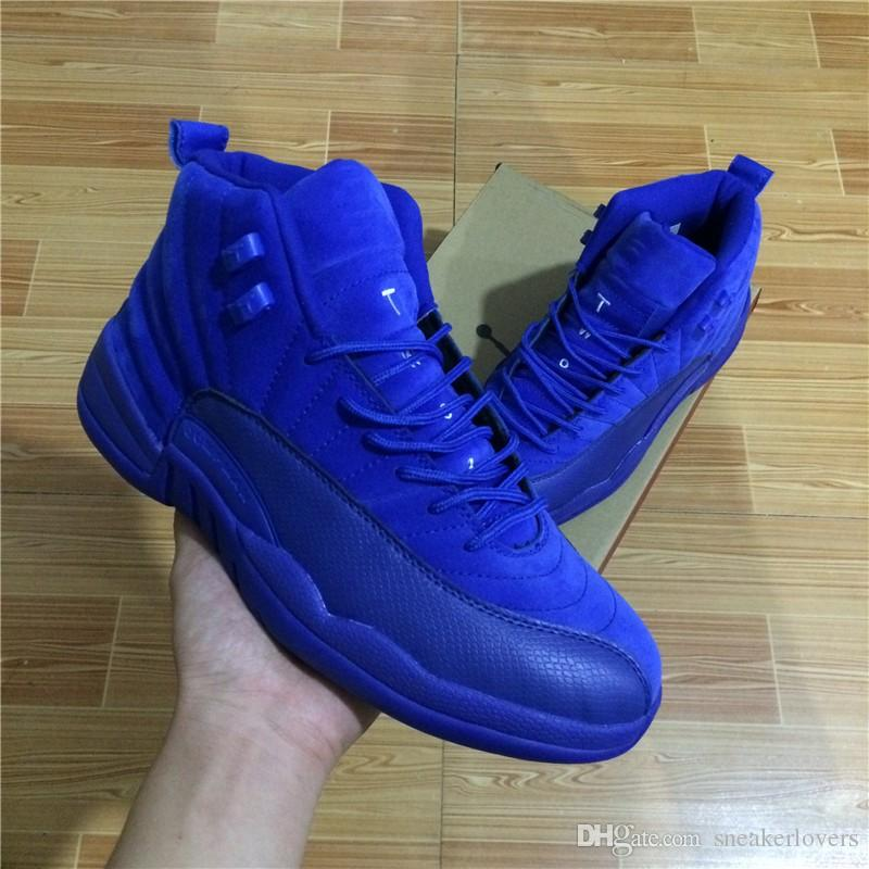 6dfca9631c31ba With Box High Quality 12s Basketball Shoes Men Women Reto XII Royal Blue  Flu Game French Blue The Master Gym Taxi Playoffs Shoes Shoes Canada  Carmelo ...