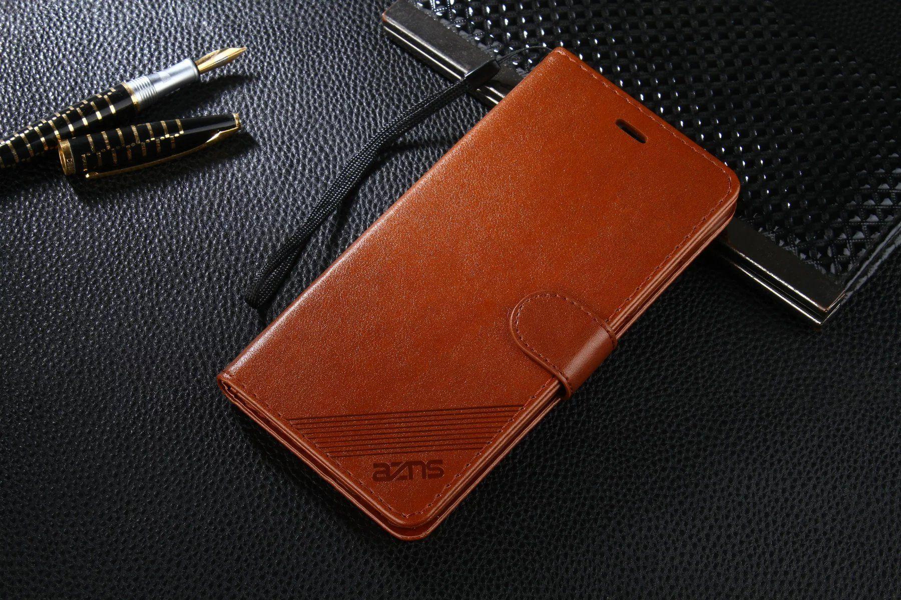 إلى Huawei Honor V9 Case ماركة لطيف Cover Slim Flip غطاء فاخر جلد أصلي لهاتف Huawei Honor V9