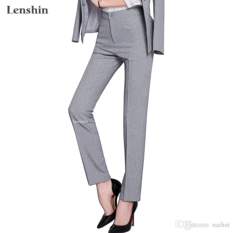 2018 Full Length Professional Business Formal Pants Women
