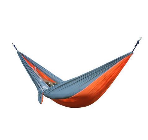 2 People Portable Parachute Hammock Camping Survival Garden Hunting Leisure Hamac Travel Double Person Hamak