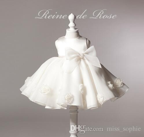 Elegant Baby Girl Pageant Wedding Dresses Infant Toddler Princess Little Girls  Birthday Party Dress Newborn 15 Months Christening Gowns Baby Christening  Dress ...