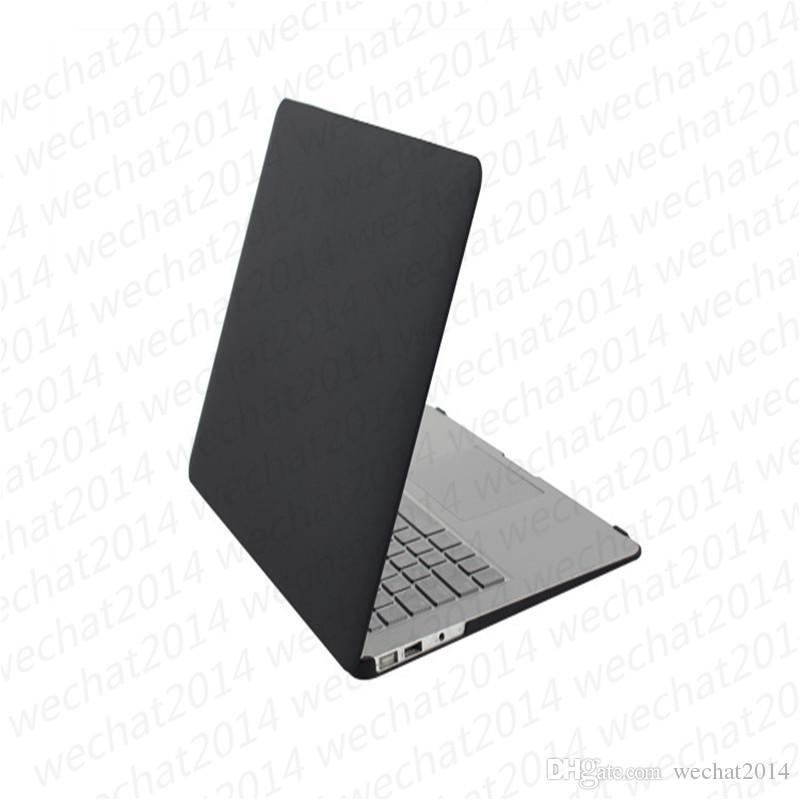 Coque caoutchouffe en caoutchouc mate Couverture de protection du corps complet pour Apple MacBook Air Pro 11 '' 12 '' 13