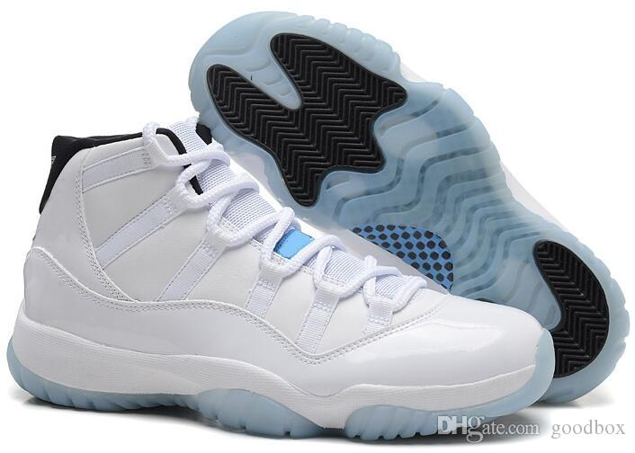 BRED 11s Space Jam 11s Bred Gamma Azul Hombres Mujeres 11s Concord 72-10 Legend Azul Cool Gris Zapatillas de deporte Zapatillas de baloncesto con caja