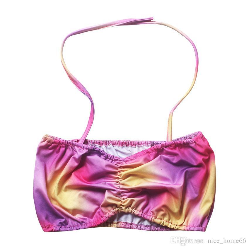 Girl Mermaid Tail Swimmable Kids Mermaid Tail Monofin Bikini Set Mermaid Fins Swimsuit Swimwear Swimming Beachwear Bathing Suit Costume