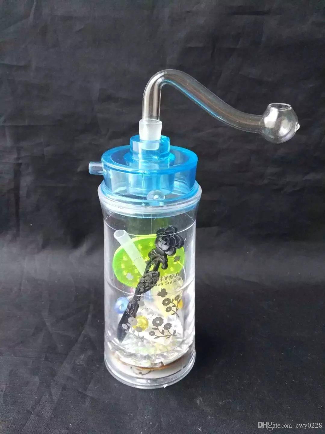 Hookah bongs accessories do not contain electronics , Unique Oil Burner Glass Bongs Pipes Water Pipes Glass Pipe Oil Rigs Smoking with Dropp