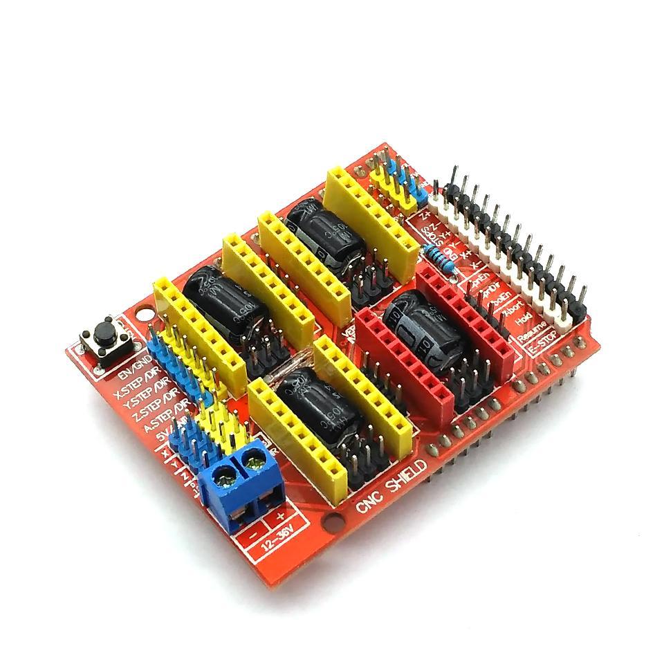 New 3D Printer Parts A4988 Driver CNC Shield Expansion Board For Arduino V3  Engraver 3D Printer