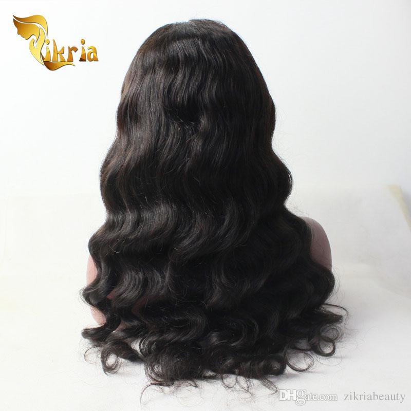 Body Wave Remy Human Hair Full Lace Wigs Indian Peruvian Malaysian Brazilian Virgin Hair Lace Front Wigs Body Wave Human Hair Lace Wigs