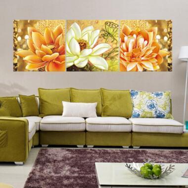 Moderne Mur Art Décoration de La Maison Imprimé Peinture À L'huile Photos Cadre Art Impressions Sur Toile 3 Panneau Notes De Musique De Piano Classique