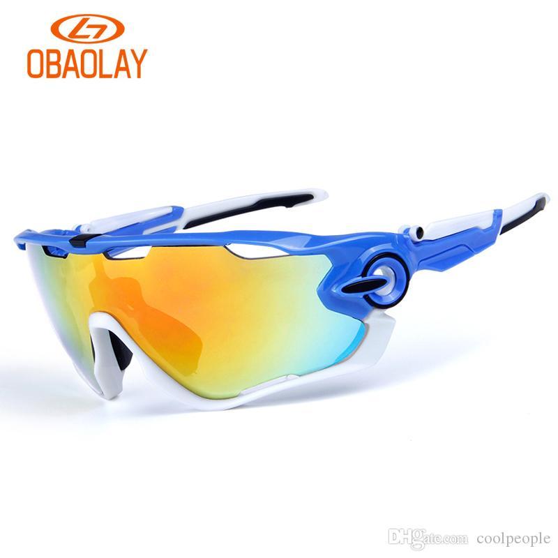 498c908d6f Fashion Sun Glasses Brand Polarized Jawbreaker Sunglasses For Men Women  Sport Cycling Bicycle Running Mens Eyewear With 3 Lens