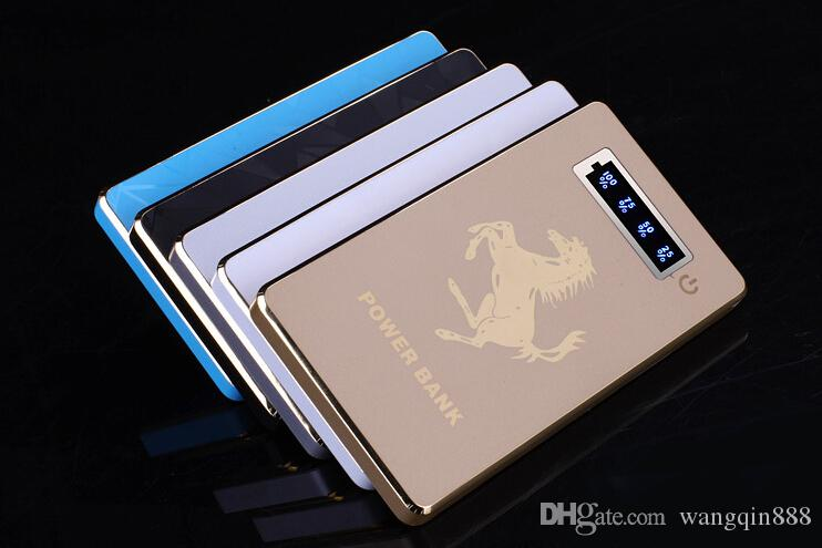 Universal 6000mAh Mobile Power Bank External Backup Battery Charger Pack for MP3 MP4 LG iPhone Samsung w/ USB & Retail Box