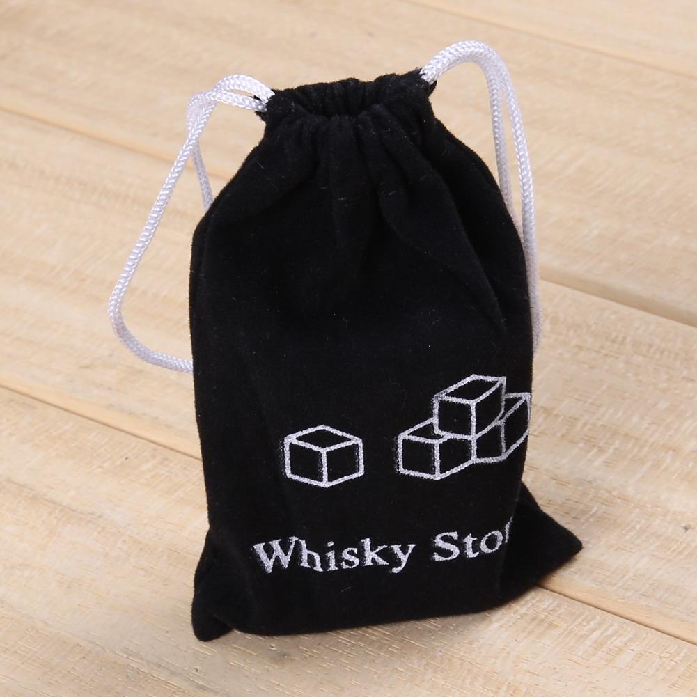 6pc Set 100% natürliche Whiskey Stones Sipping Ice Cube Whiskey Stein Whiskey Rock Cooler Hochzeitsgeschenk Favor Christmas Bar