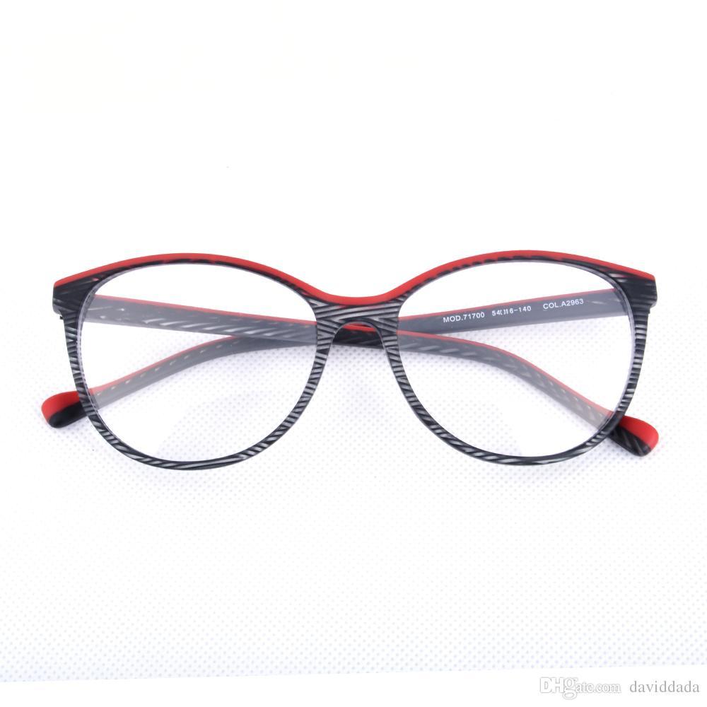 Großhandel Frauen Handgemachter Optik Glas Rahmen Für ...