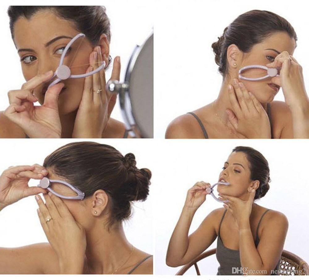 Alta qualità Nuovo originale sistema di estirpazione Sistema di infila-occhiali Filettatura manuale viso e corpo Epilatore