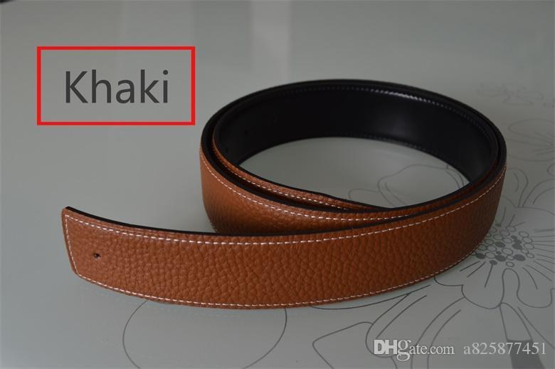 4- New Fashion Mens Business Belts Luxury Ceinture Automatic Buckle Genuine Leather Belts For Men Waist Belt