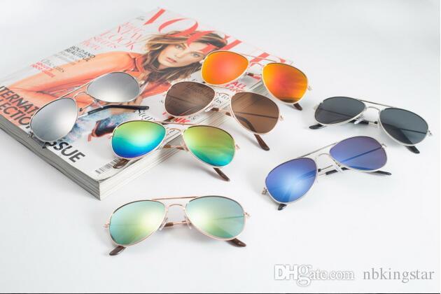 New Fashion Kids Sunglasses Dual Beam Children Baby Boys Girls UV400 Protection Sun Glasses Goggle