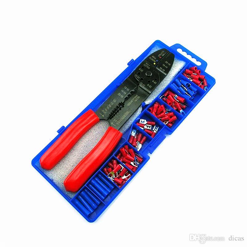 Multifunktions Kabel Terminal Crimpzange Draht Crimper Kabel Stripper Clamp Zange Abisolieren Elektrowerkzeug Set Plus Terminal Zubehör