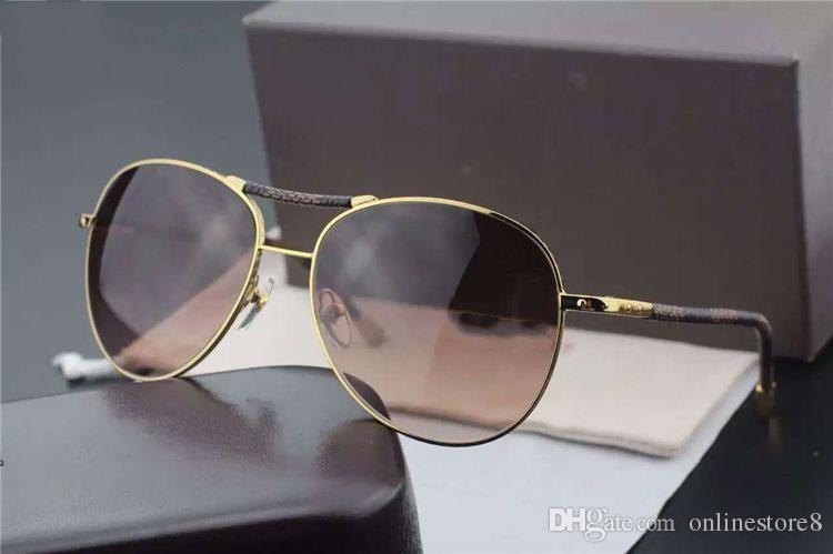 أعلى جودة البيضاوي جولة إطار معدني النظارات الشمسية الأزياء معبد قماش نجم نماذج النساء الرجال كبيرة يورت النظارات الكلاسيكية البرية