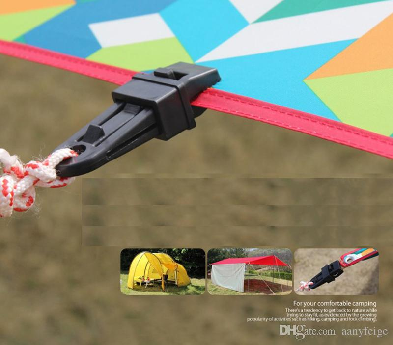 Barraca Fixa Fivela Grande Clipe Jacaré Tenda ponto de puxar Clipe Gancho Fivela Tenda Acessórios Ferramentas Ao Ar Livre Camping Kits de Viagem