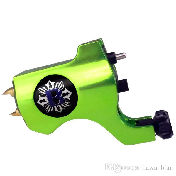 Newest Bishop Style Precision Rotary Tattoo Machine Gun Blue Machine Aluminum Swiss Motor Shader/Liner