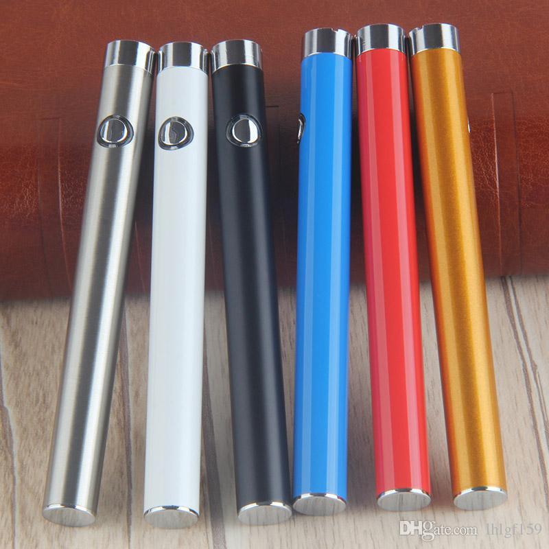 CE3 O-pen BUD Button Manual Battery 280mAh Vapor pen 510 vape pen e Cigarettes for Oil Cartridge Vaporizer Heavy Smoke ON/OFF