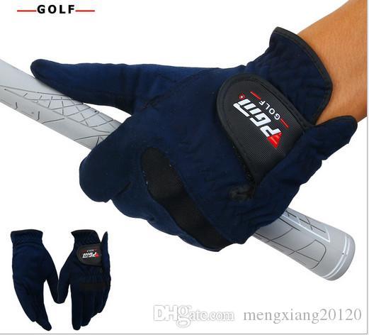 2017 Sonderangebot Top Lederhandschuhe Guantes Golf Pgm Echtes Männer Golf Handschuhe Mikrofaser Tuch Atmungsaktive Weiche Tragen