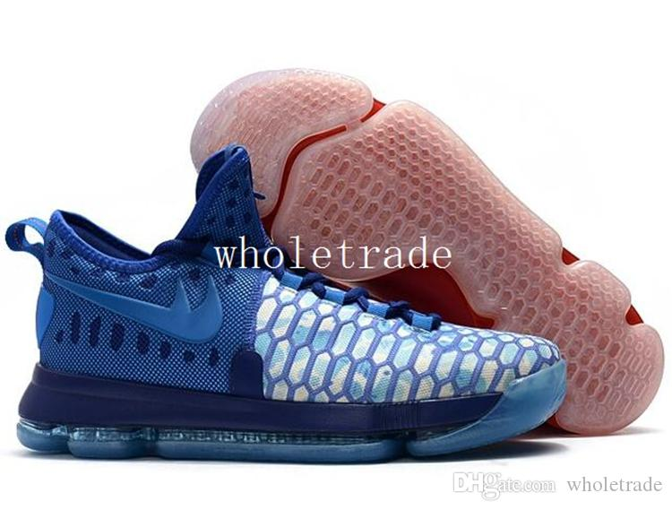 Dropshipping Kd Shoes Cheap Mens Kd 9 Basketball Shoes Kids Kd9 Elite Kevin  Durant Sneakers For Sale In Top Quality Come With Box Shoe Shops Cheap ...