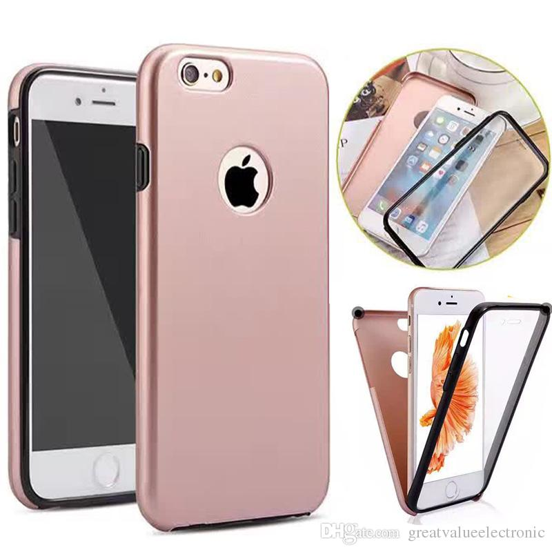 fashion design pc cover clear built in screen cell phone cases for
