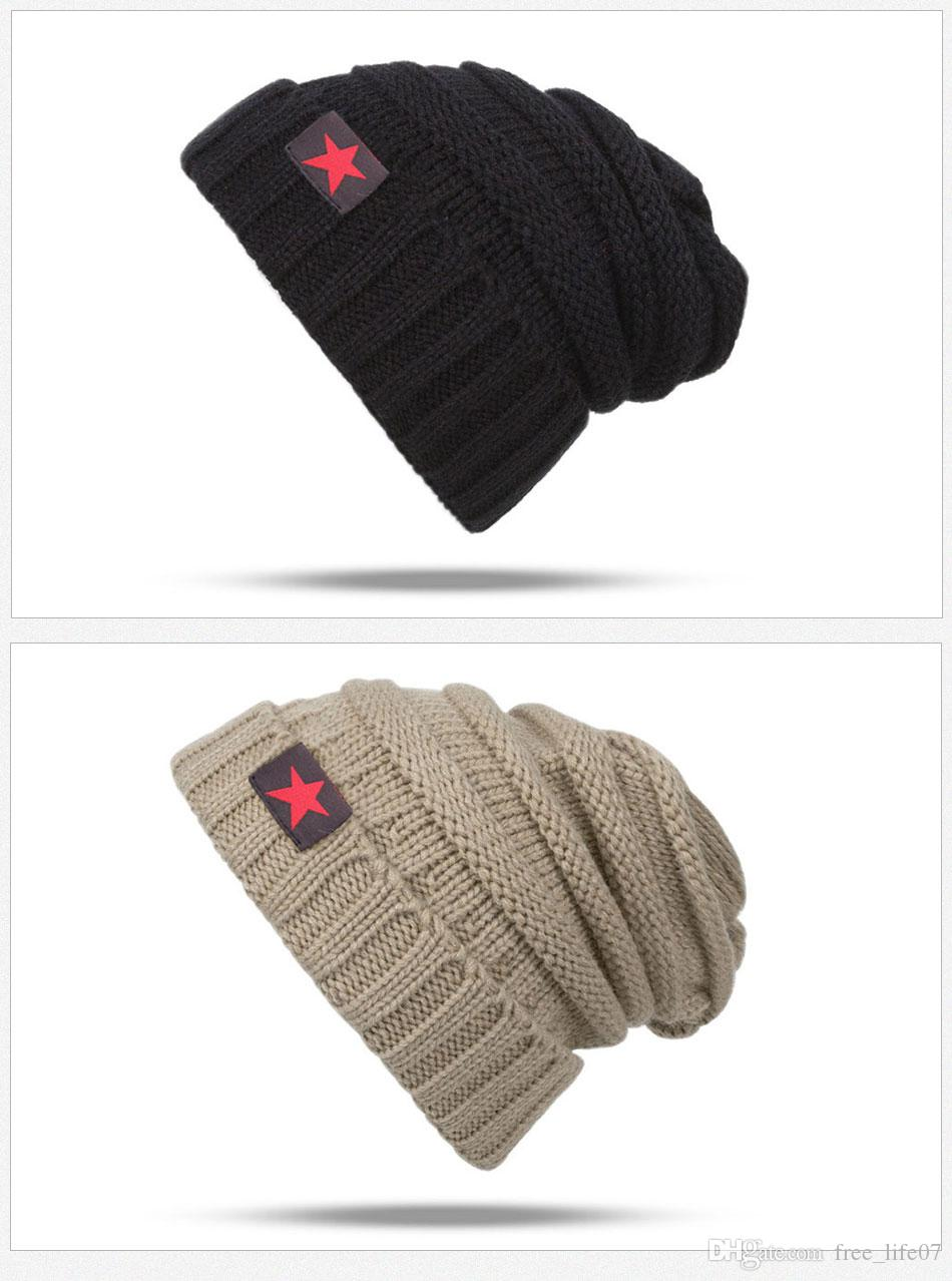5f799ba1fb78b 2017 New Fashion Winter Hat Women Skullies Beanies Unisex Warm Hat ...