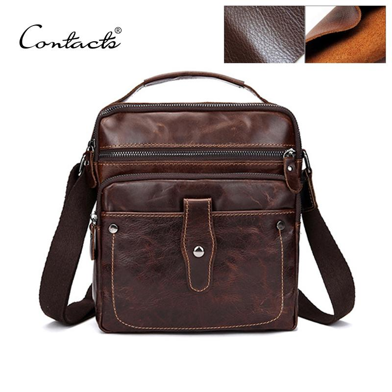 Wholesale CONTACT S Fashion Designer High Quality Genuine Leather Crossbody  Bags Design Bags Cowhide Leather Small Messenger Bag For Man Tote Handbags  Relic ... 8a7e717a7e683