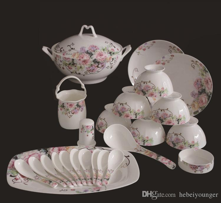 Großhandel Dinner Set / Geschirr / Keramik / Porzellan / Europäische ...