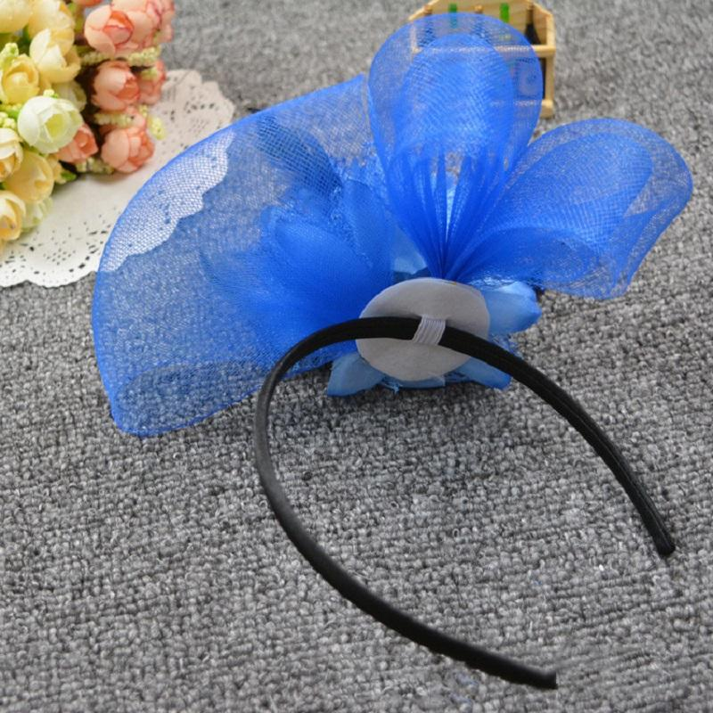 Sinamay Fascinator Hat Feathers Simple Elegant Church Wedding Races Carnival Fascinator Sweet Hair Accessories Hairpin Headd