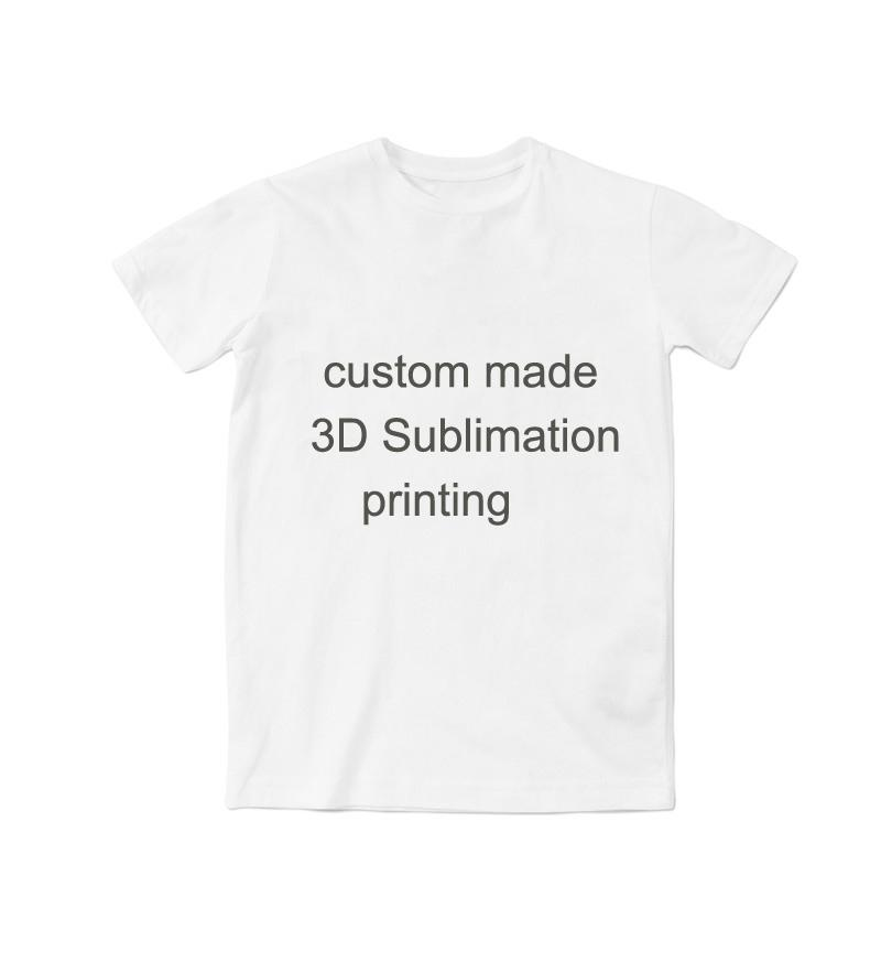 wholesale real usa size custom create your own 3d sublimation print t shirt plus size funniest tee shirts fun tee shirt from simmer 314 dhgatecom