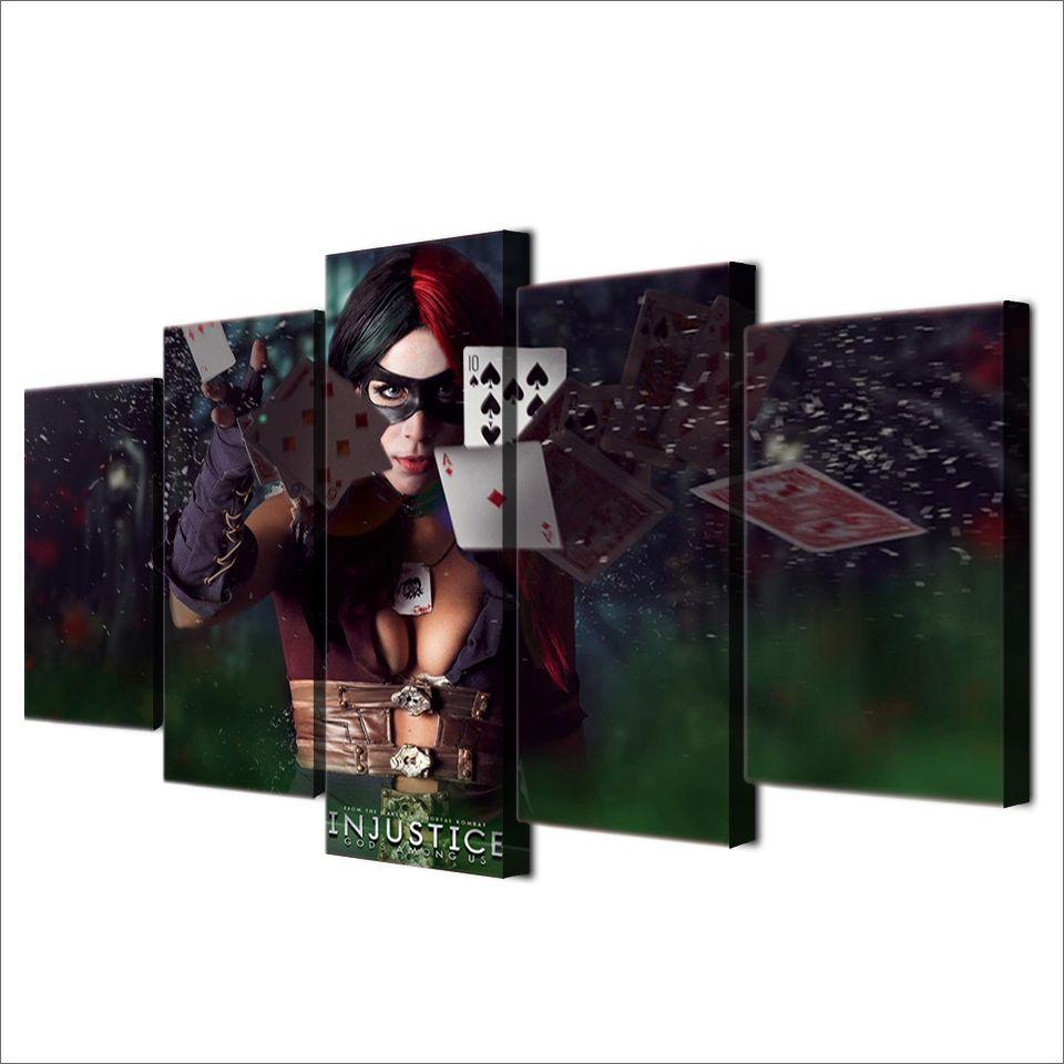 / Set Encadré HD Imprimé Dieux d'Injustice Peinture sur toile Chambre Décoration Imprimer Affiche Photo Toile Livraison Gratuite / ny-2230
