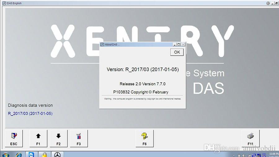 Новый 500 ГБ 2017.03 МБ SD Connect Программное обеспечение Compact C4 HDD с DELL D630 / Поддержка внешнего формата WIN7 / 8 Система MB Star C4 Программное обеспечение DHL Free