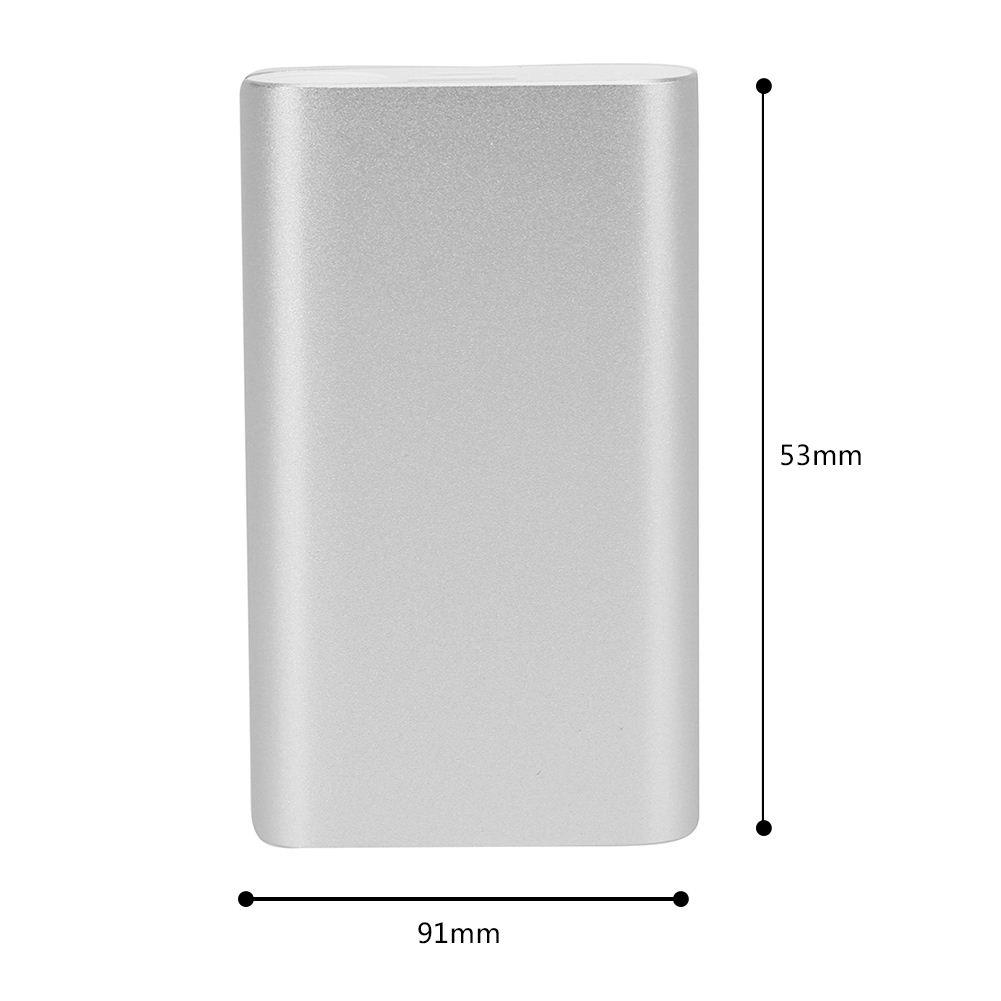 18650 Battery Power Bank Battery Box DIY 2X 18650 Battery Powerbank Shell Case Charger Solderless for Huawei Xiaomi Phones