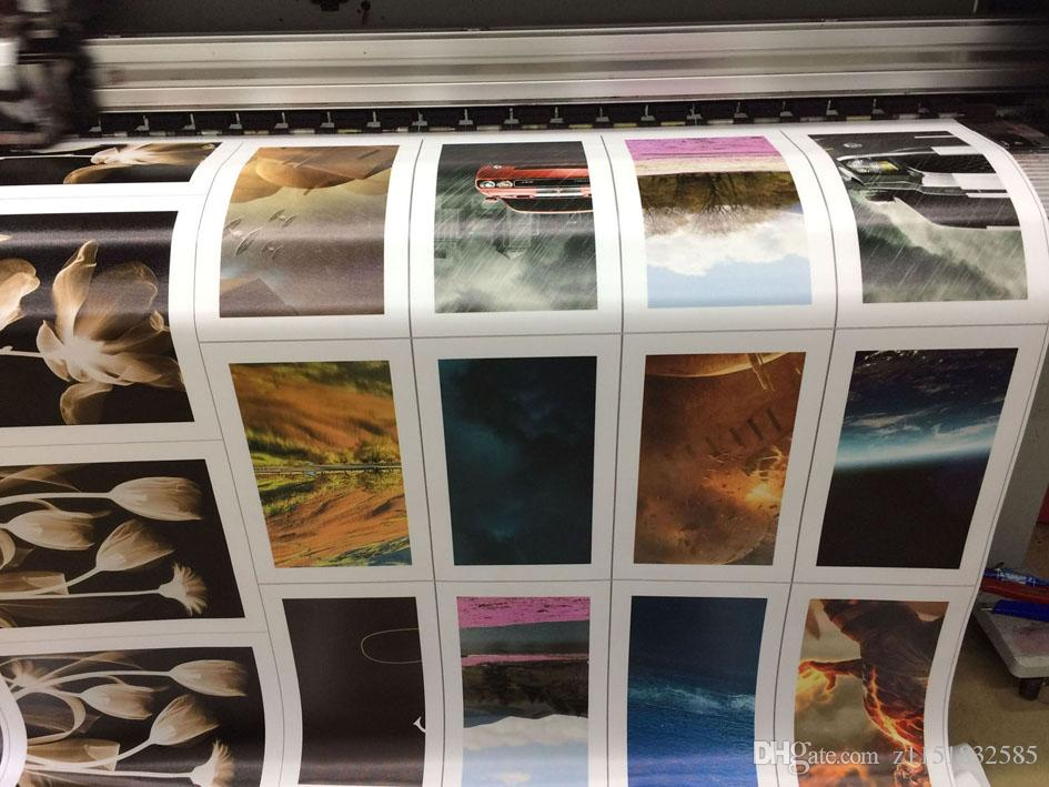 프레임 없음 예술 난초 캔버스 유화 포스터 벽에 거실 사진 모듈 사진 인쇄