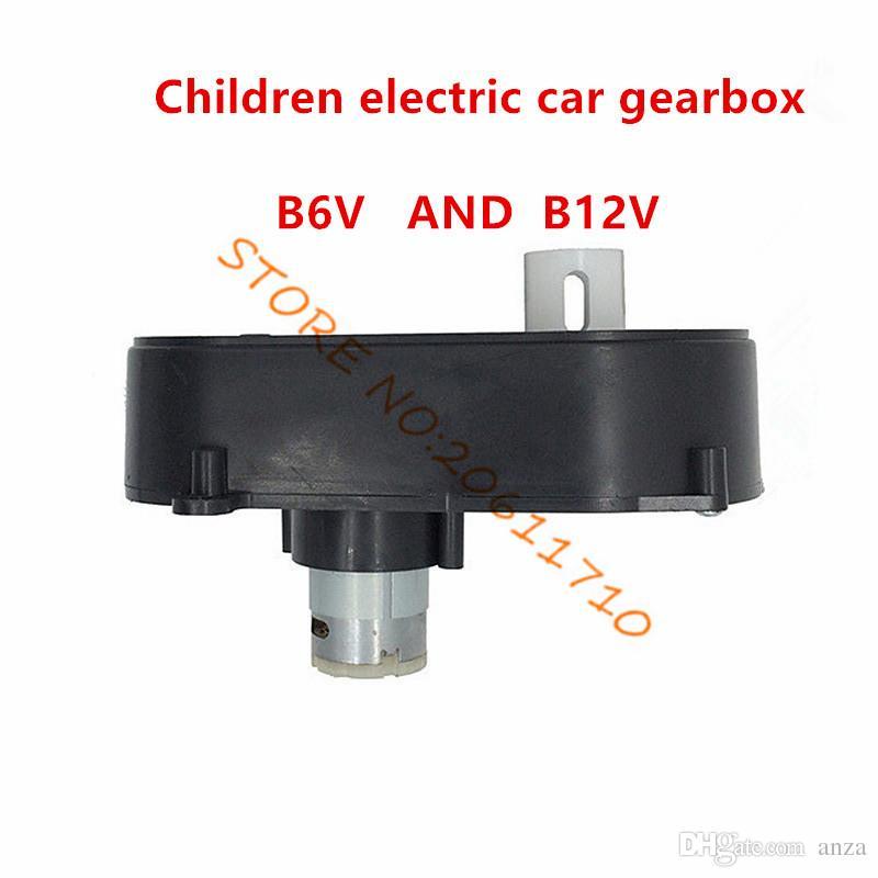 Motore elettrico sterzante auto telecomandata, scatola sterzante auto giocattolo con motore, Scatola sterzo automobile elettrica bambini con motore