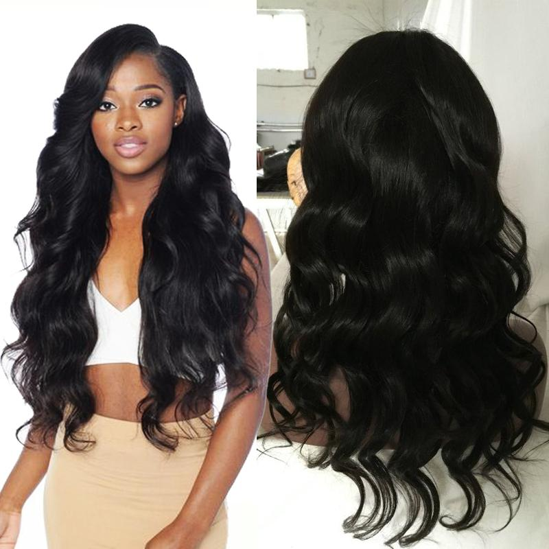 Lace Front Human Hair Wigs Indian Hair Body Wave Full Lace Human Wigs With Baby Hair Cheap Lace Front Wigs