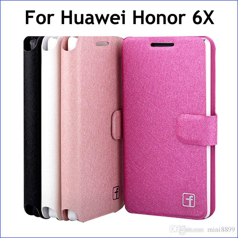 Original Coque Portefeuille Pour Huawei Honor 6x Gr5 2017 Mate 9 Lite Avec Support Cases, Covers & Skins