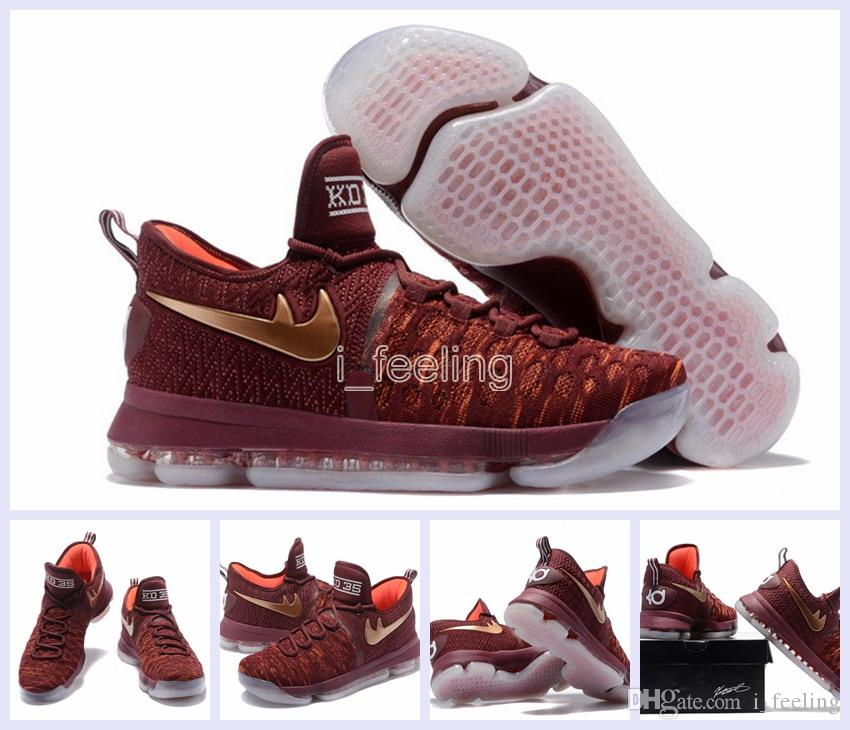2017 New Air Zoom Kd 9 Xmas Ep Basketball Shoes Kd 35 Kevin Durant ...