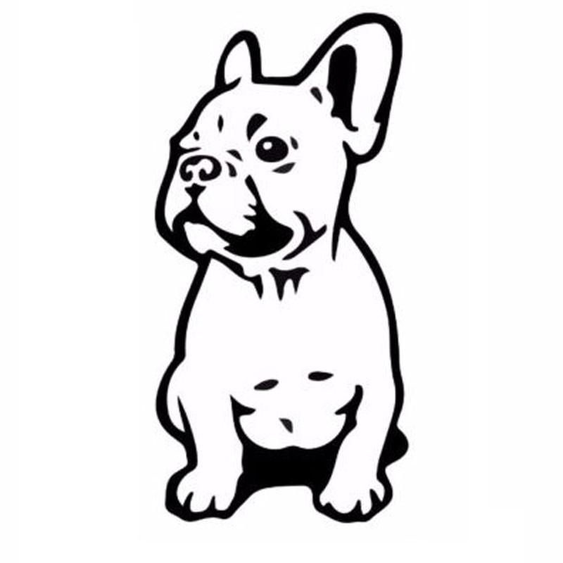 2019 7 5 15 2cm French Bulldog Dog Pet Breed Vinyl Decal