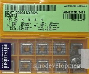 10 STÜCKE MITSUBISH CARBIDE INSERT SCMT120404 NX2525