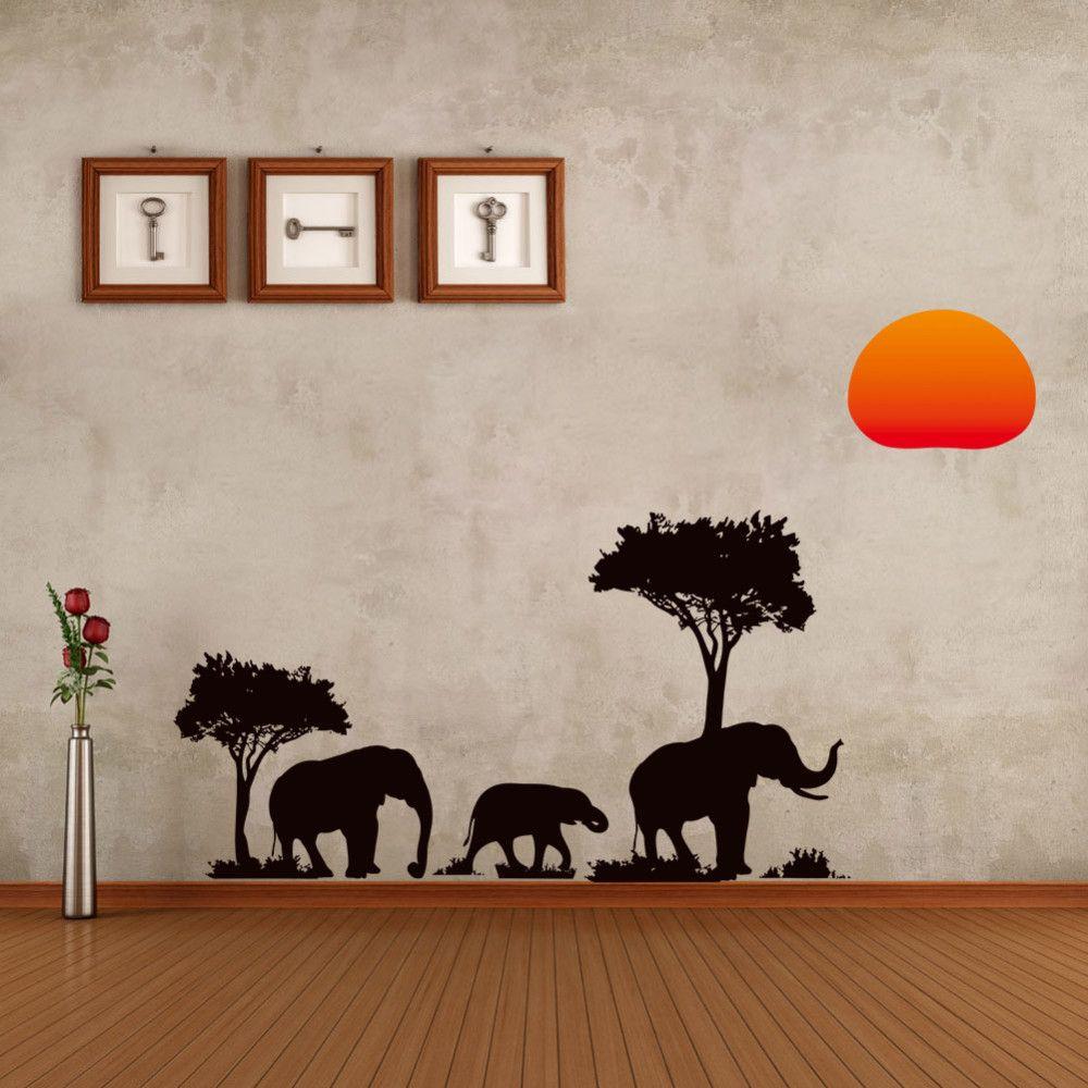 Good Wallpaper Cartoon Elephant - home-decor-new-diy-tree-cartoon-elephant  Gallery_801392  .jpg