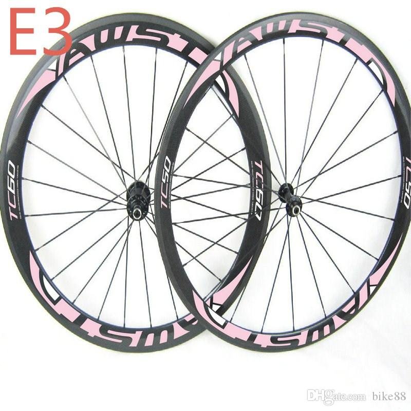 Top quality T800 700C bicycle carbon wheels WAST road bike wheels 50mm+60mm full carbon bicycle wheels ceramic bearing